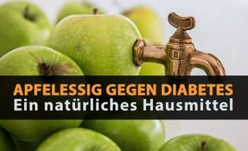 apfelessig gegen diabetes
