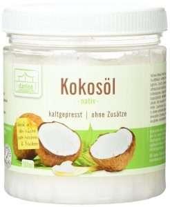 Beste Kokosöl für die Haare Danlee
