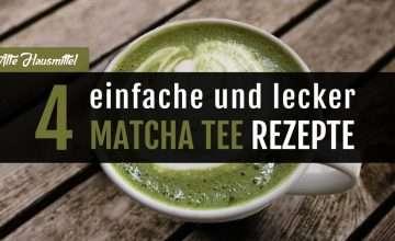 Matcha Tee Rezepte