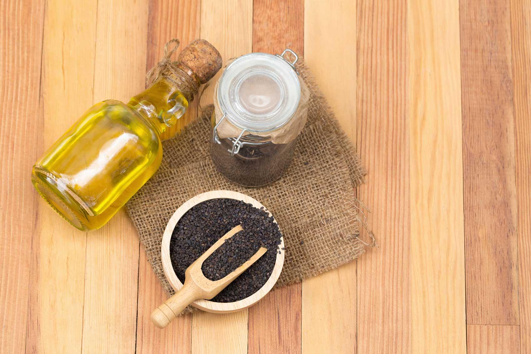 Anwendung von Schwarzkümmelöl für die Haut