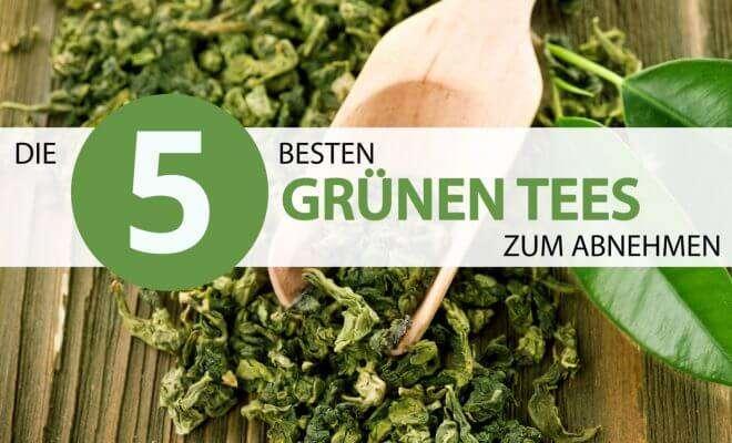 besten grünen Tees zum Abnehmen