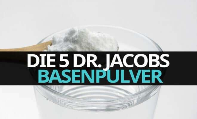 Die 5 Dr. Jacobs Basenpulver