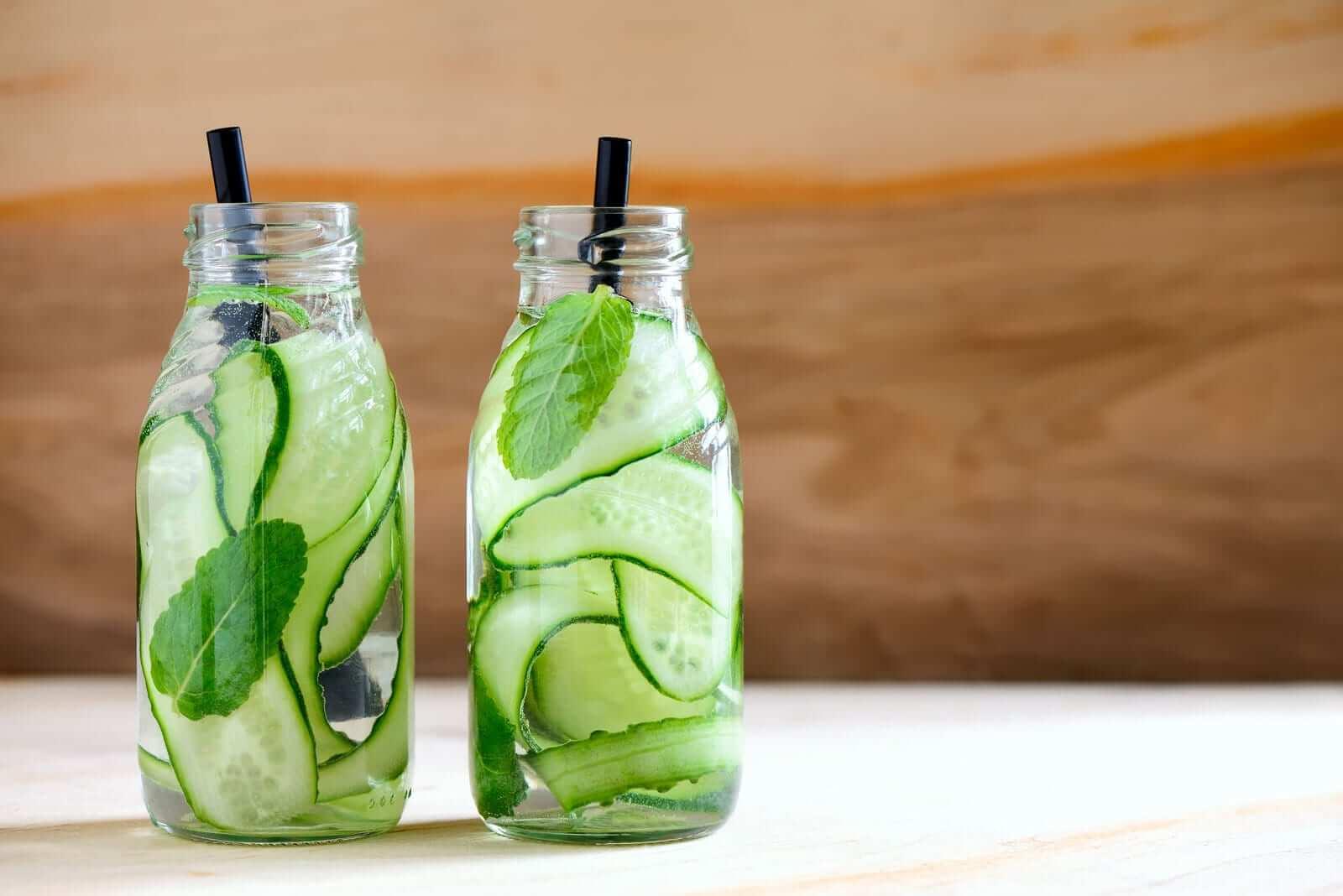 Gurken Detox Wasser Rezept