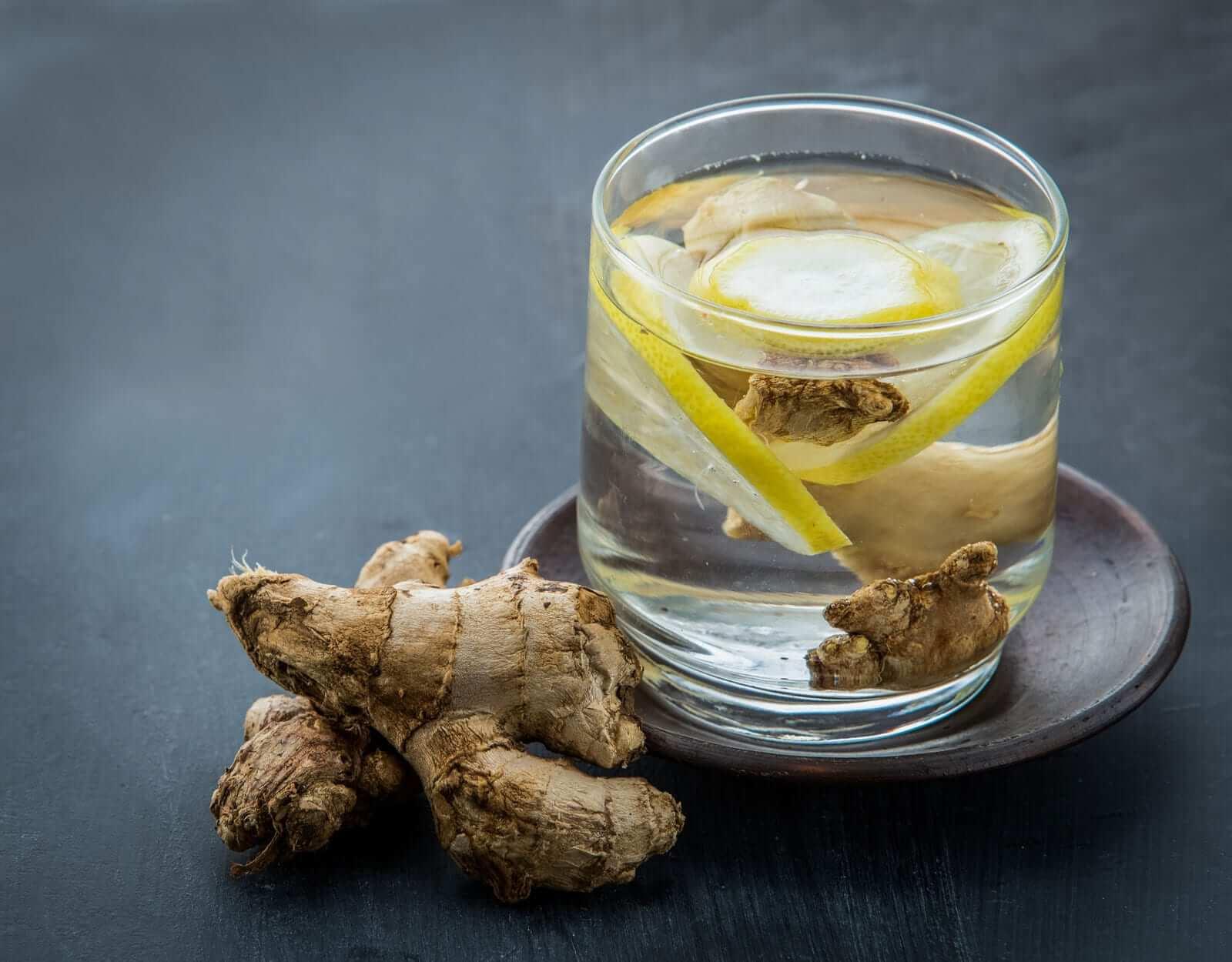 Zitronen Ingwer Detox Wasser Rezepte