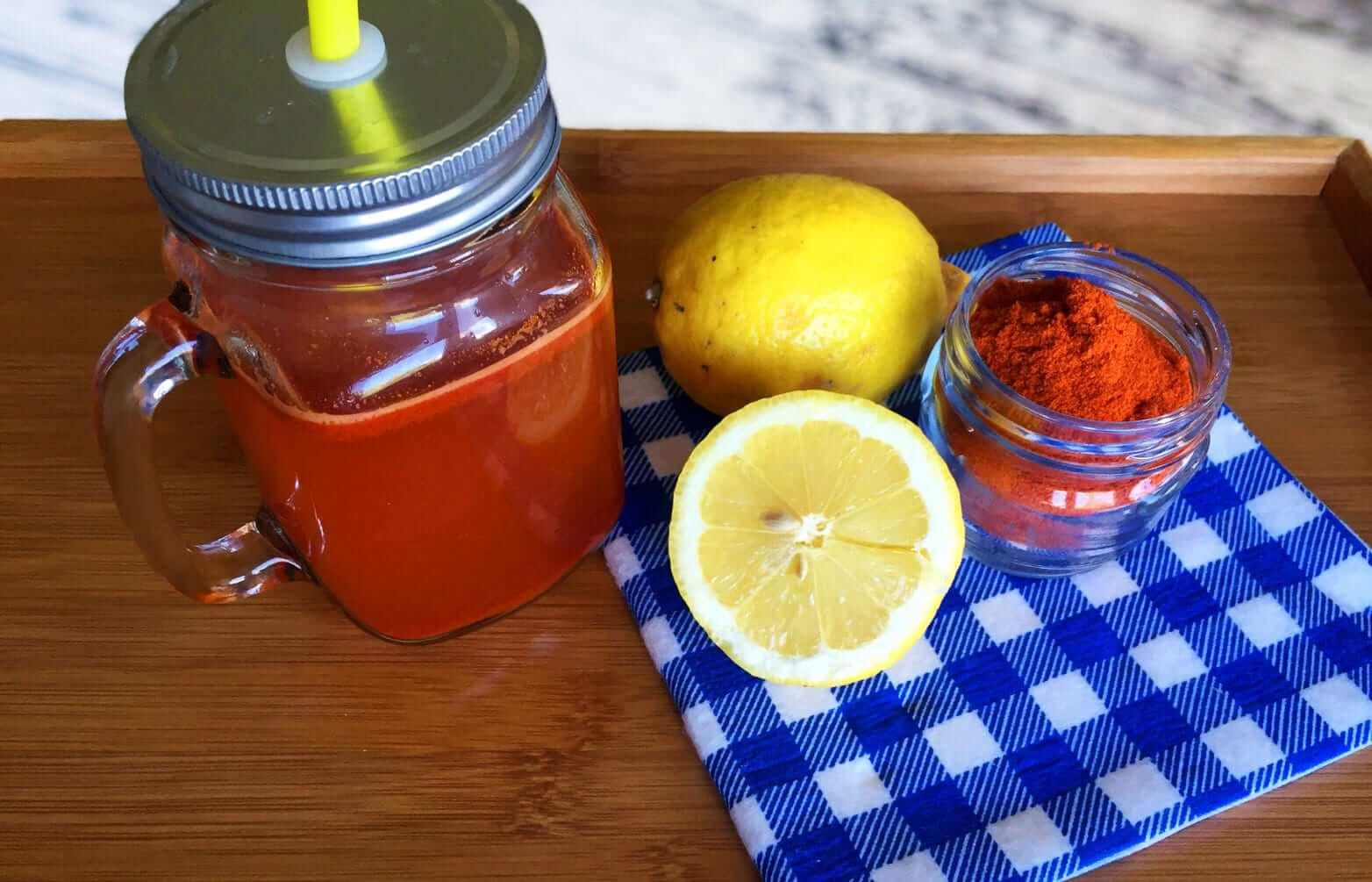 Detox Wasser Rezepte Zitrone