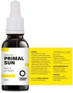 PRIMAL SUN VITAMIN D3 TROPFEN