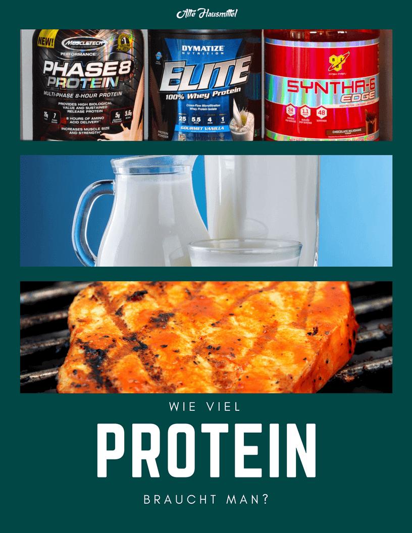 Wie viel Protein braucht man?