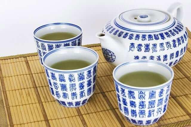Grüner Tee zum detox