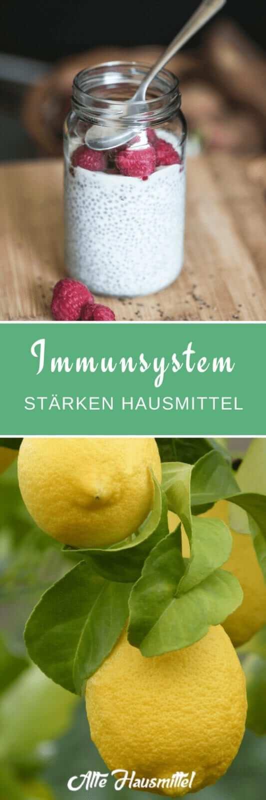 Immunsystem stärken mit Hausmitteln