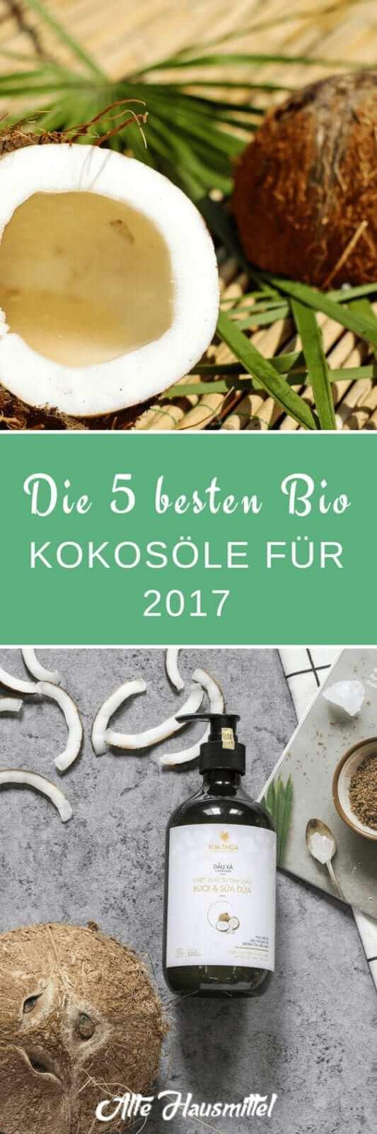 Die 5 besten Bio Kokosöle im Test & Vergleich