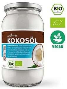 Kokosöl im Glas von nutriverde