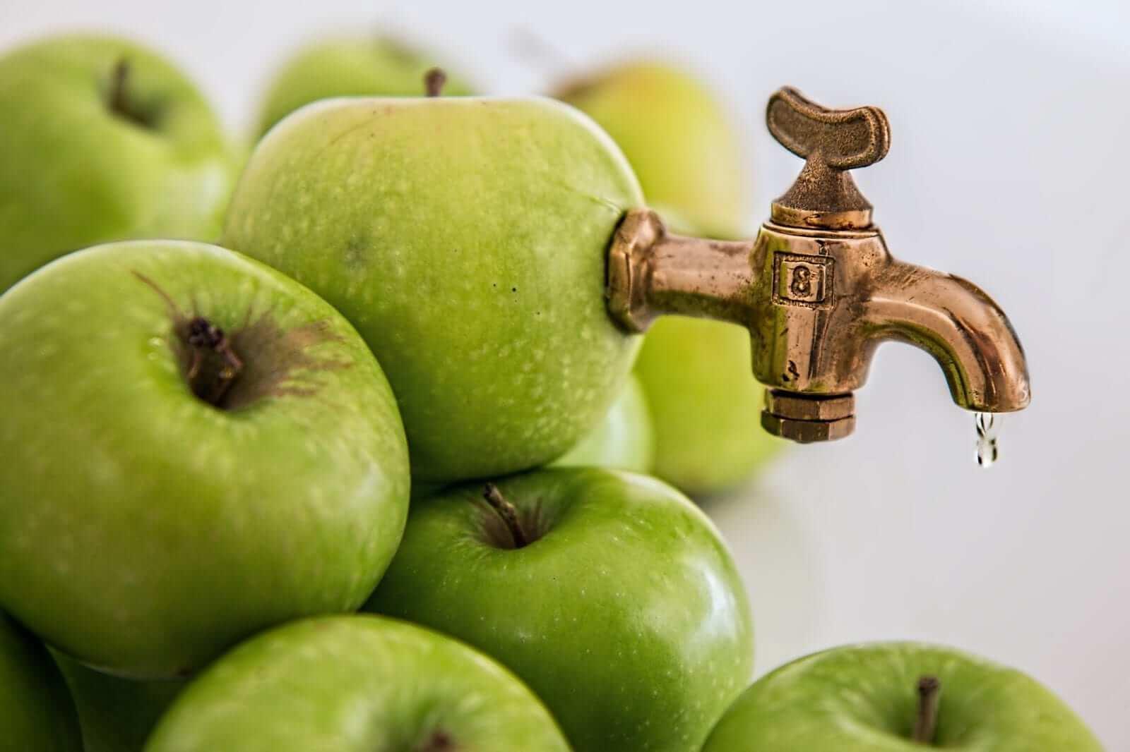 Apfelessig gegen Sodbrennen