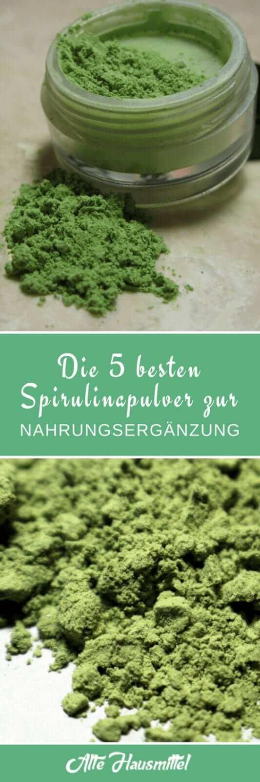 5 Gesundheitliche Vorteile von Spirulinapulver