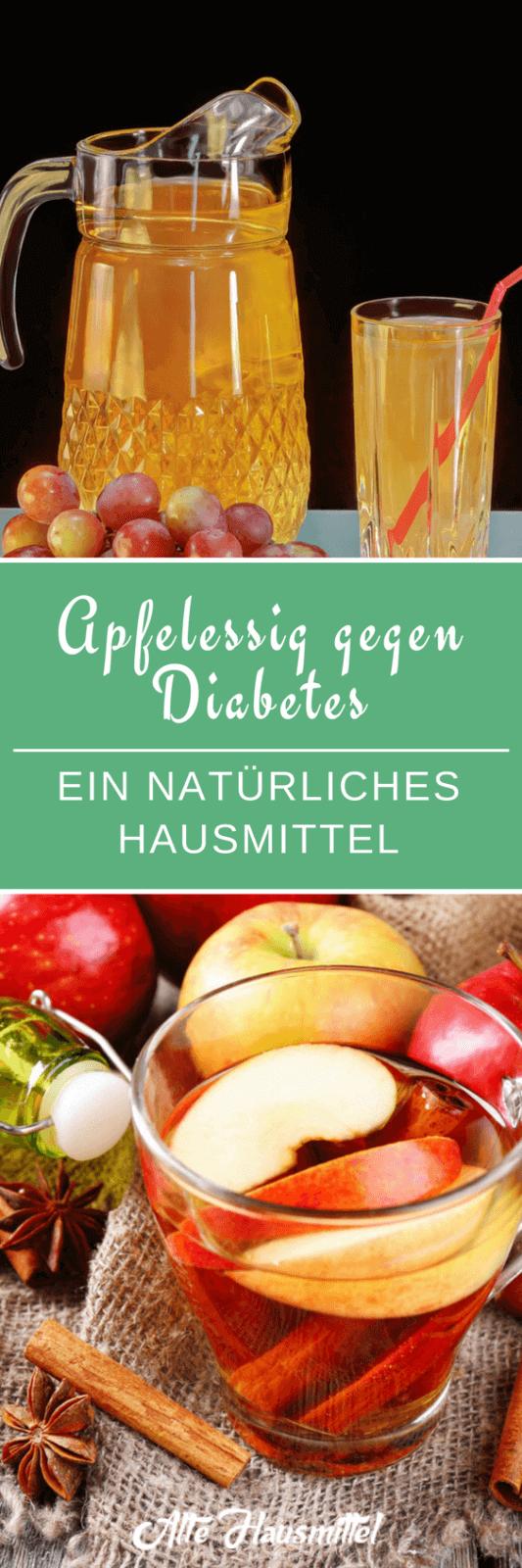 Apfelessig kann Ihnen bei Diabetes helfen ✅ Ich zeige warum und wie man Apfelessig gegen Diabetes erfolgreich anwenden kann ✅