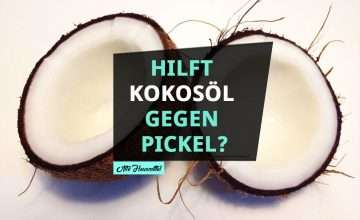 Hilft Kokosöl gegen Pickel