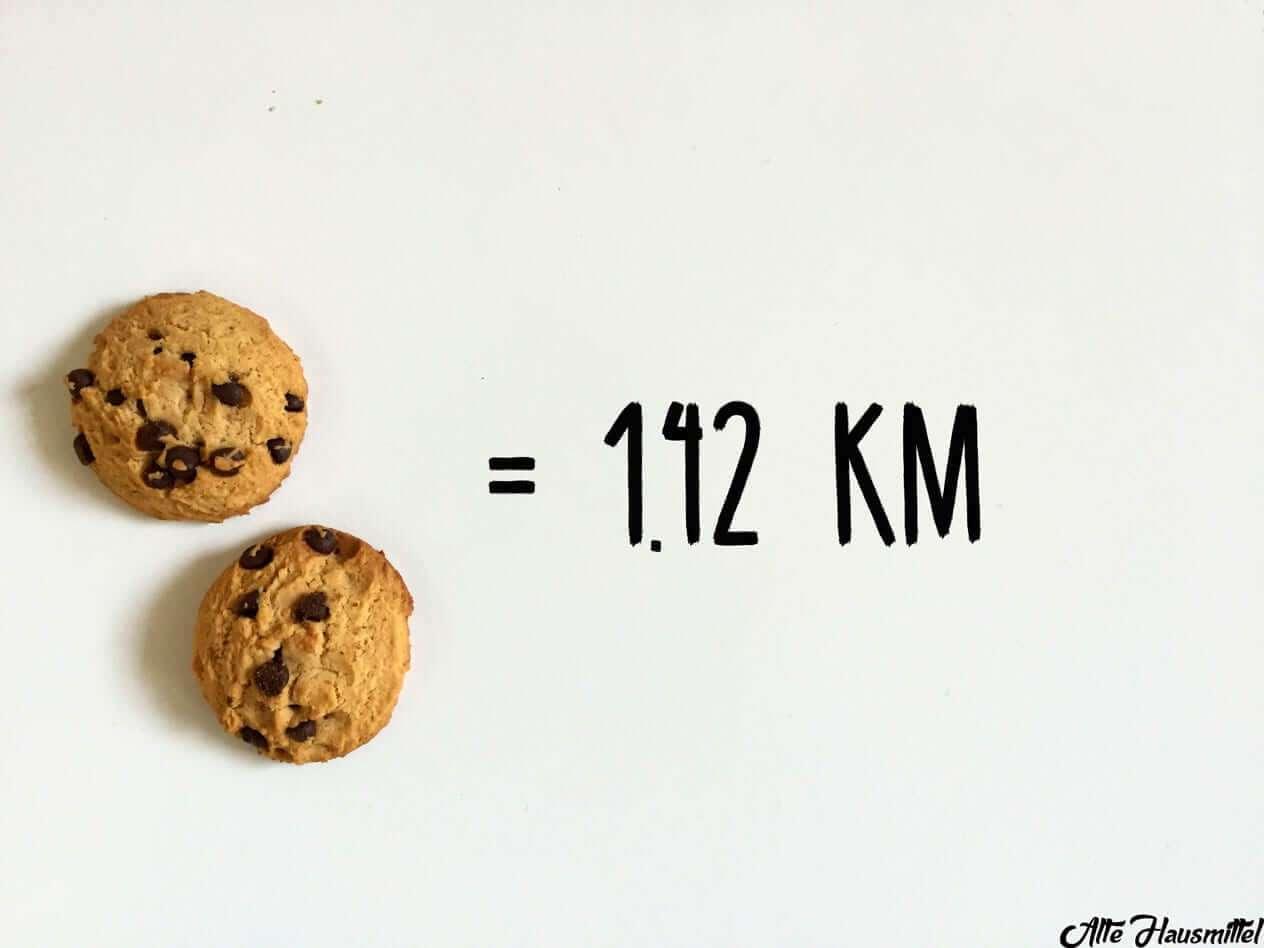 So viele Kilometer musst Du laufen, um Deine liebsten Snacks zu verbrennen