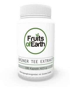 FRUITS OF EARTH GRÜNER TEE EXTRAKT