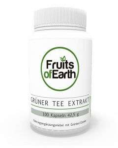 FRUITS OF EARTH GRÜNER TEE EXTRAKT