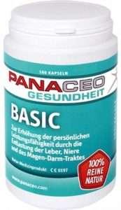 PANACEO BASIC DETOX KAPSELN