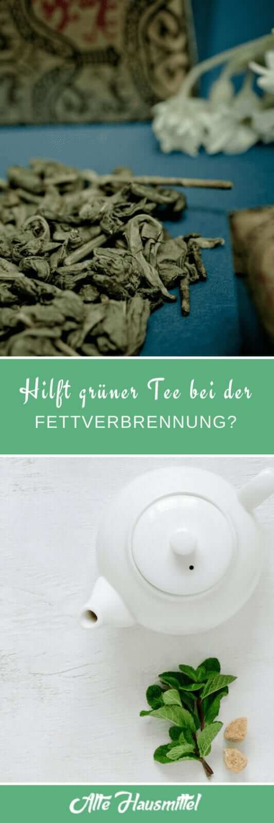 Hilft grüner Tee bei der Fettverbrennung?
