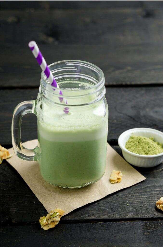 Grüner Matcha Smoothie