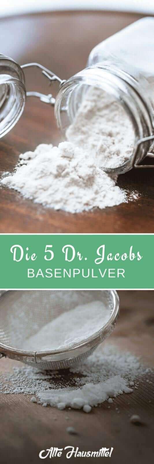 Die 5 Dr. Jacobs Basenpulver im Test & Vergleich