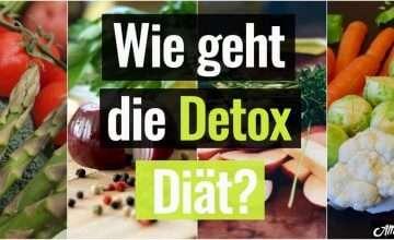 So geht Detox DIät