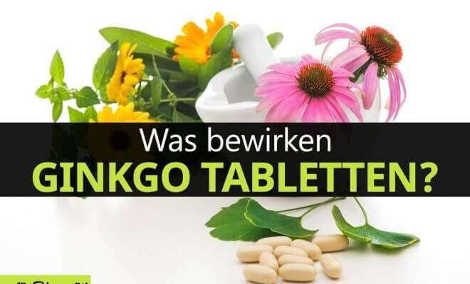 Ginkgo Tabletten