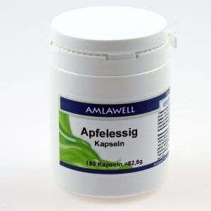 AMLAWELL APFELESSIG KAPSELN