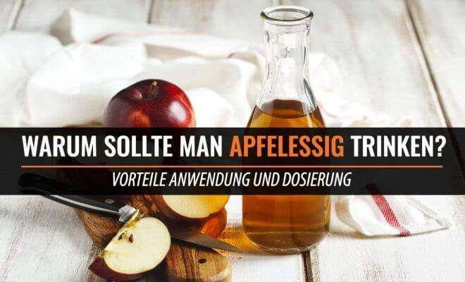 Apfelessig zum Trinken