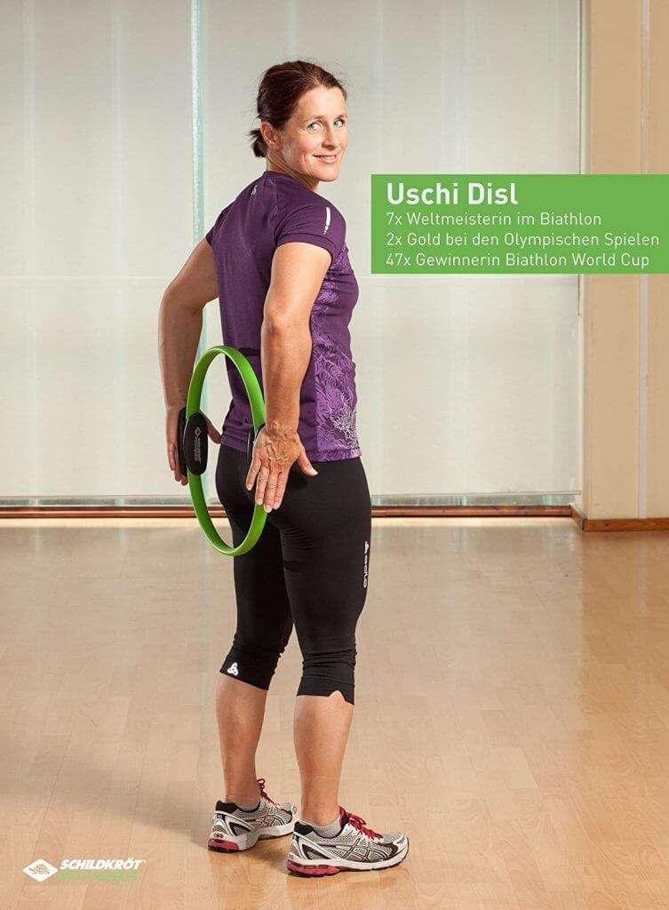 Den Rücken stärken mit Pilates Ringen