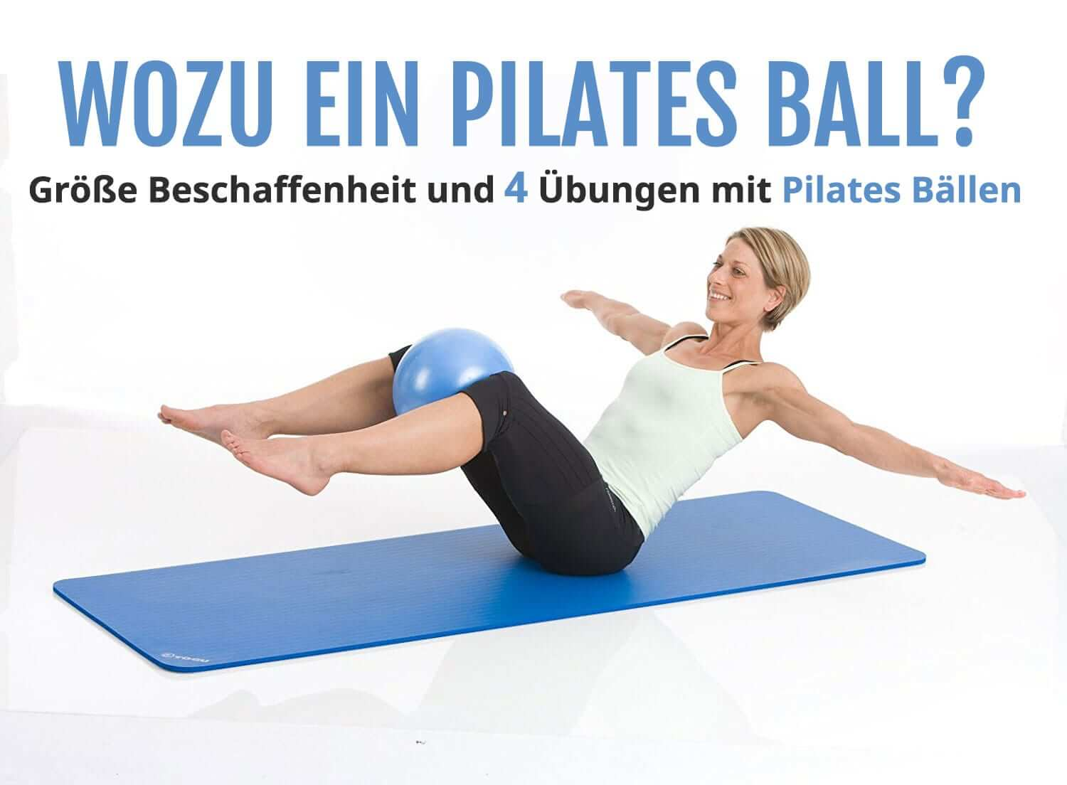 pilates b lle im vergleich einfache pilates bungen mit dem ball. Black Bedroom Furniture Sets. Home Design Ideas