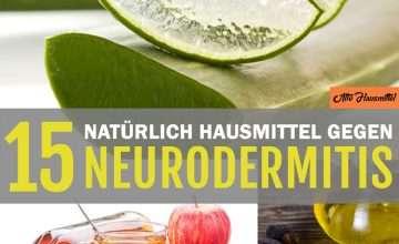 Hausmittel gegen Neurodermitis