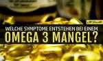 Omega 3 Mangel erkennen