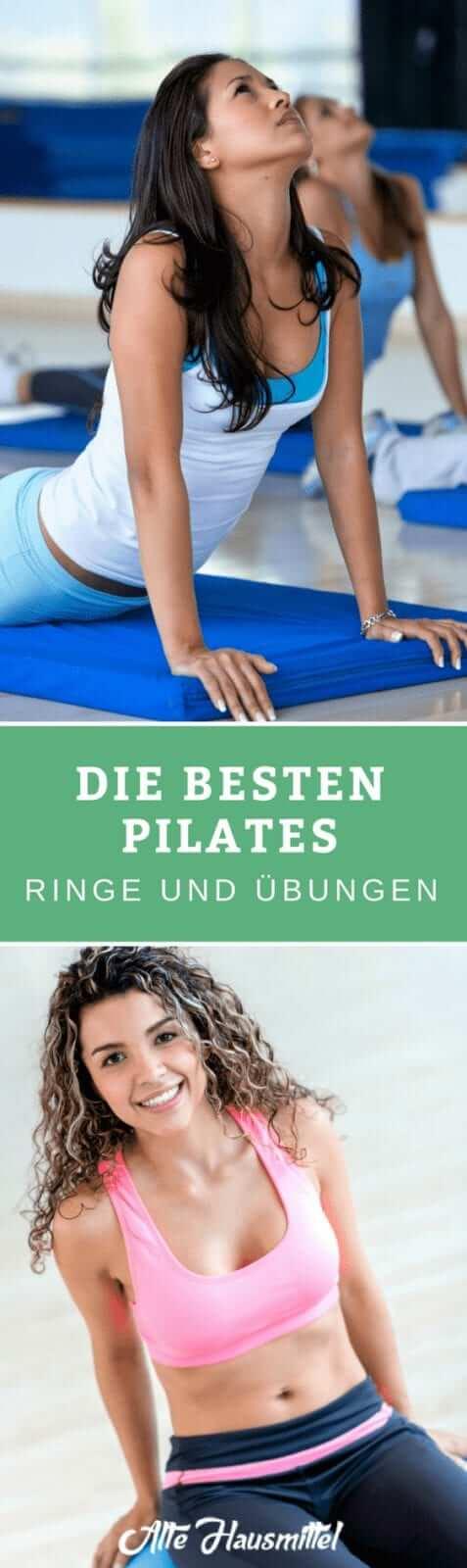 Die besten Pilates Ringe und Übungen im Test & Vergleich