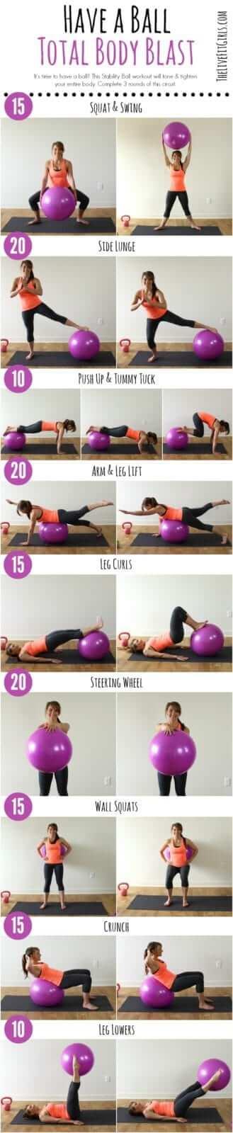 Extrem Pilates Bälle im Vergleich ✓ Einfache Pilates Übungen mit dem Ball IV45