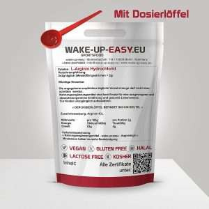 WAKE-UP-EASY.EU L-ARGININ HCL PULVER
