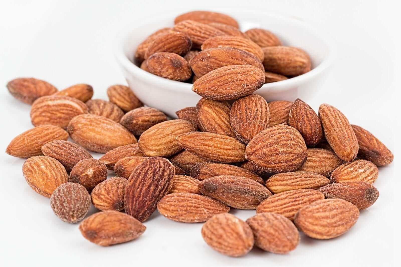 kalziumreiche Getreide, Nüsse und Samen