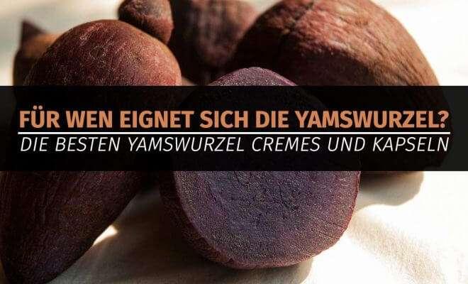 Die besten Yamswurzel Cremes und Kapseln