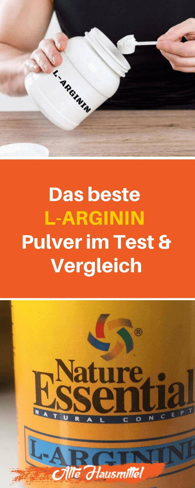 Das beste L-Arginin Pulver im Test & Vergleich