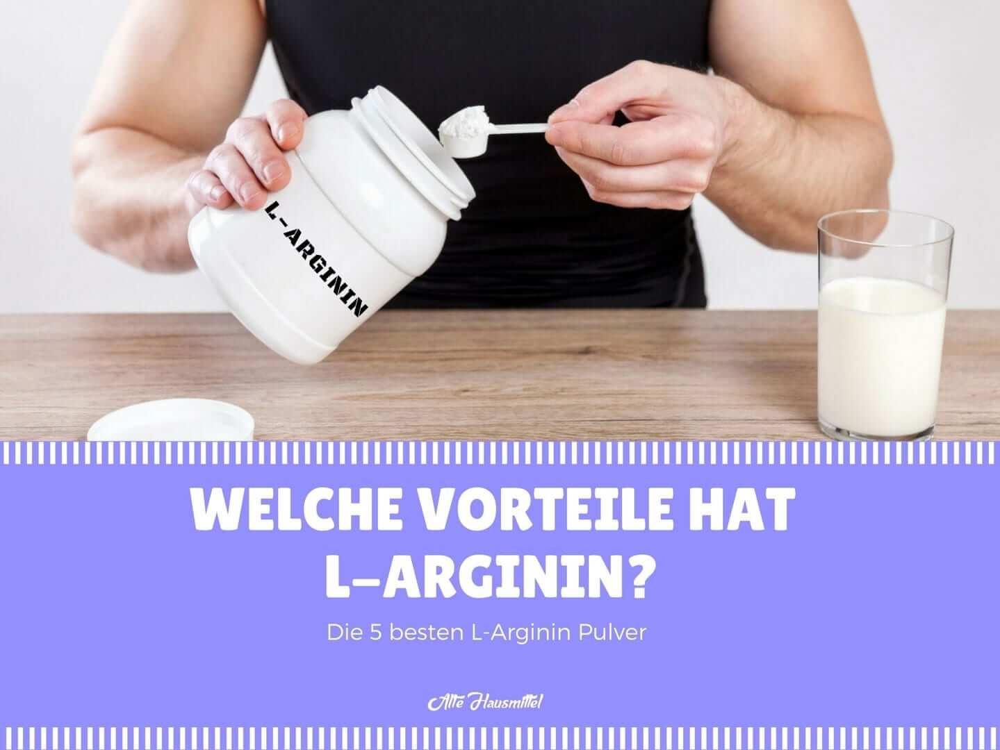 was ist das beste l arginin pulver der groà e vergleich â