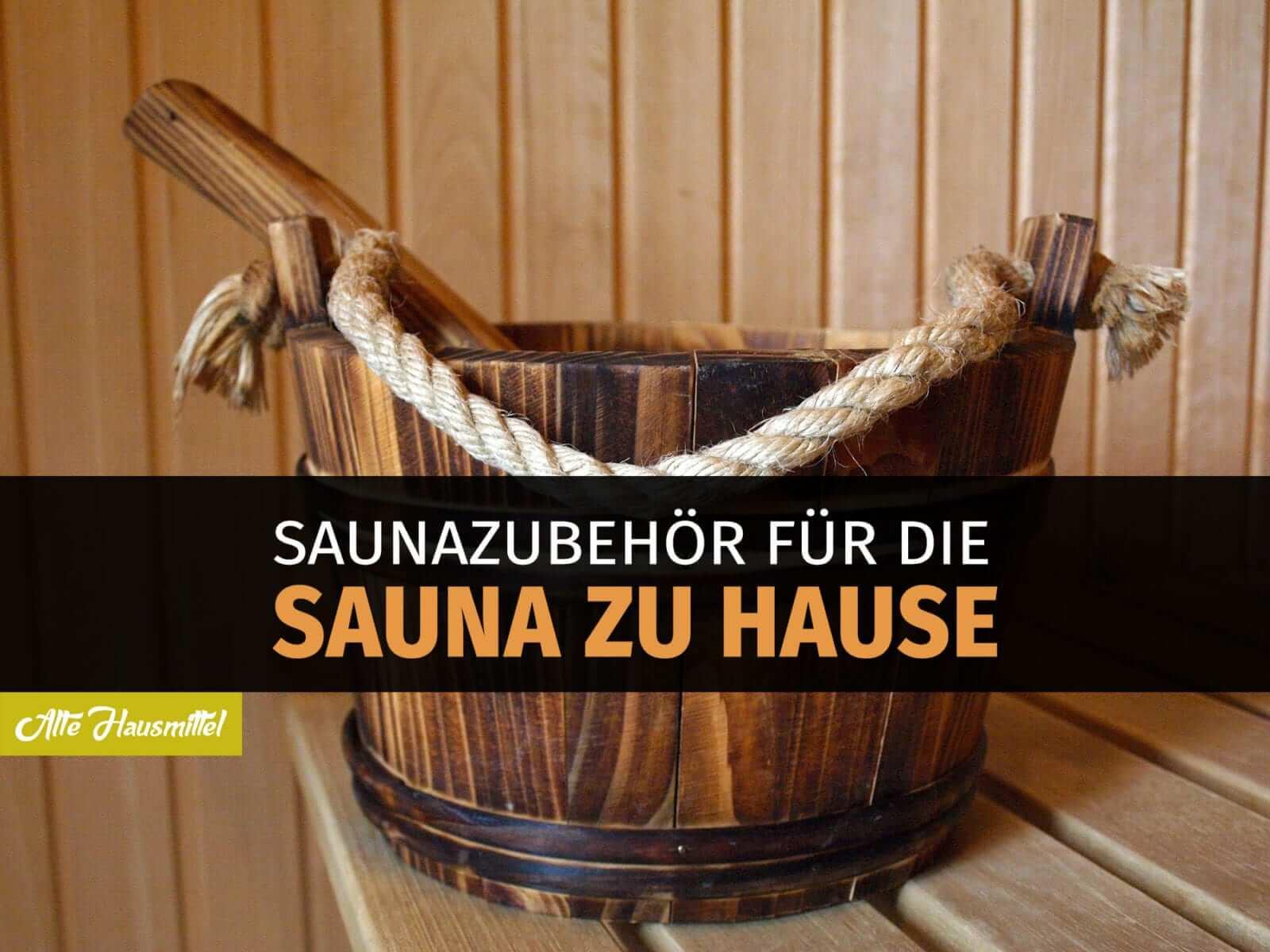 das wichtigste saunazubeh r f r zu hause auf einen blick. Black Bedroom Furniture Sets. Home Design Ideas