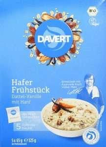 DAVERT HAFER FRÜHSTÜCK