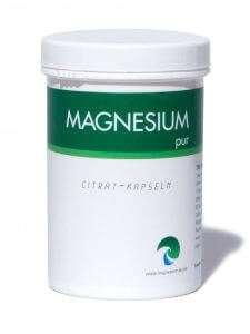 MAGNESIUM PUR MAGNESIUMCITRAT KAPSELN