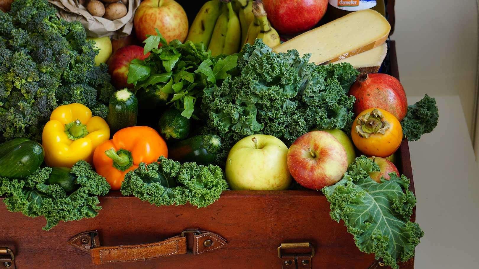 Obst und Gemüse helfen der Verdauung