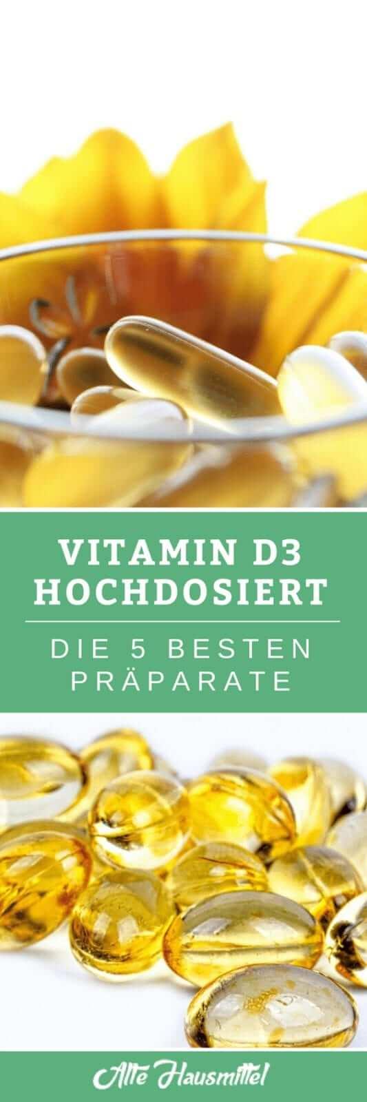 Das beste hochdosierte Vitamin D3 im Test & Vergleich