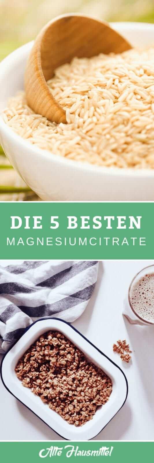 Die besten Magnesiumcitrate im Test & Vergleich