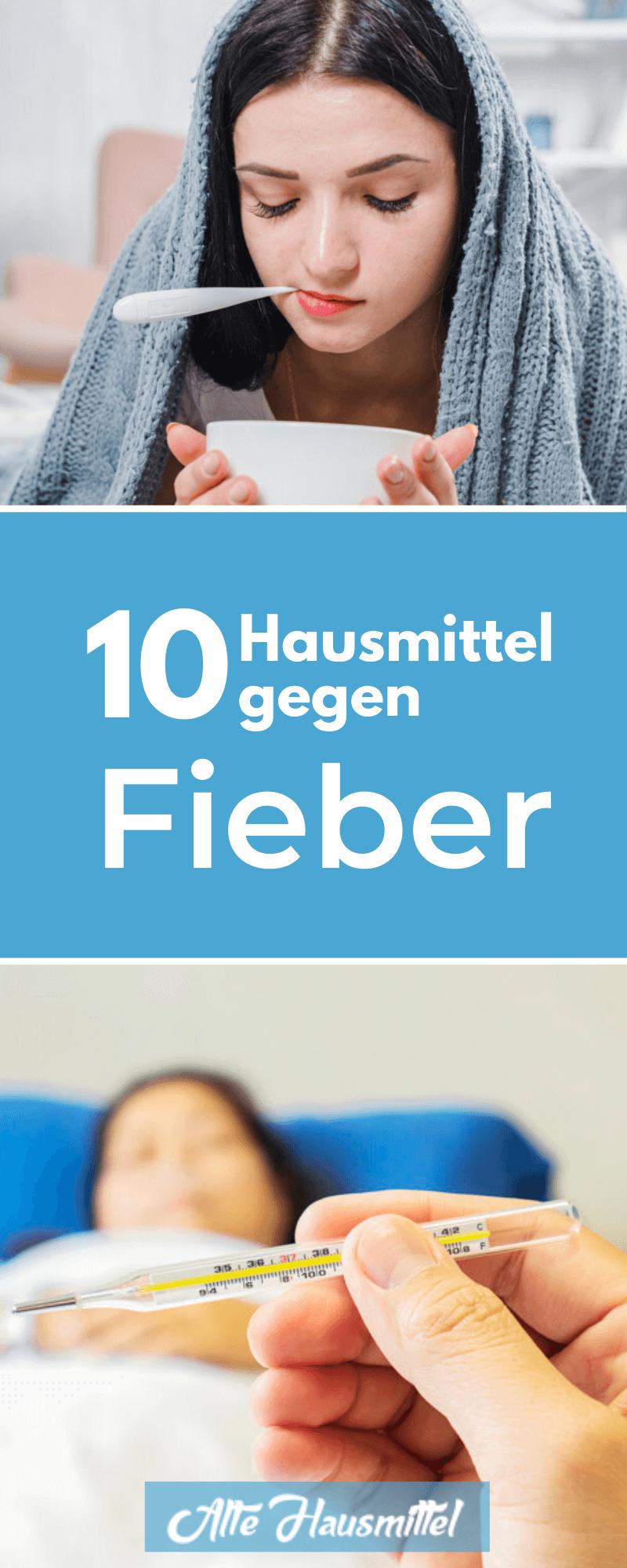 10 Hausmittel gegen Fieber