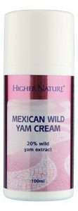 HIGHER NATURE MEXICAN WILD YAMS CREME