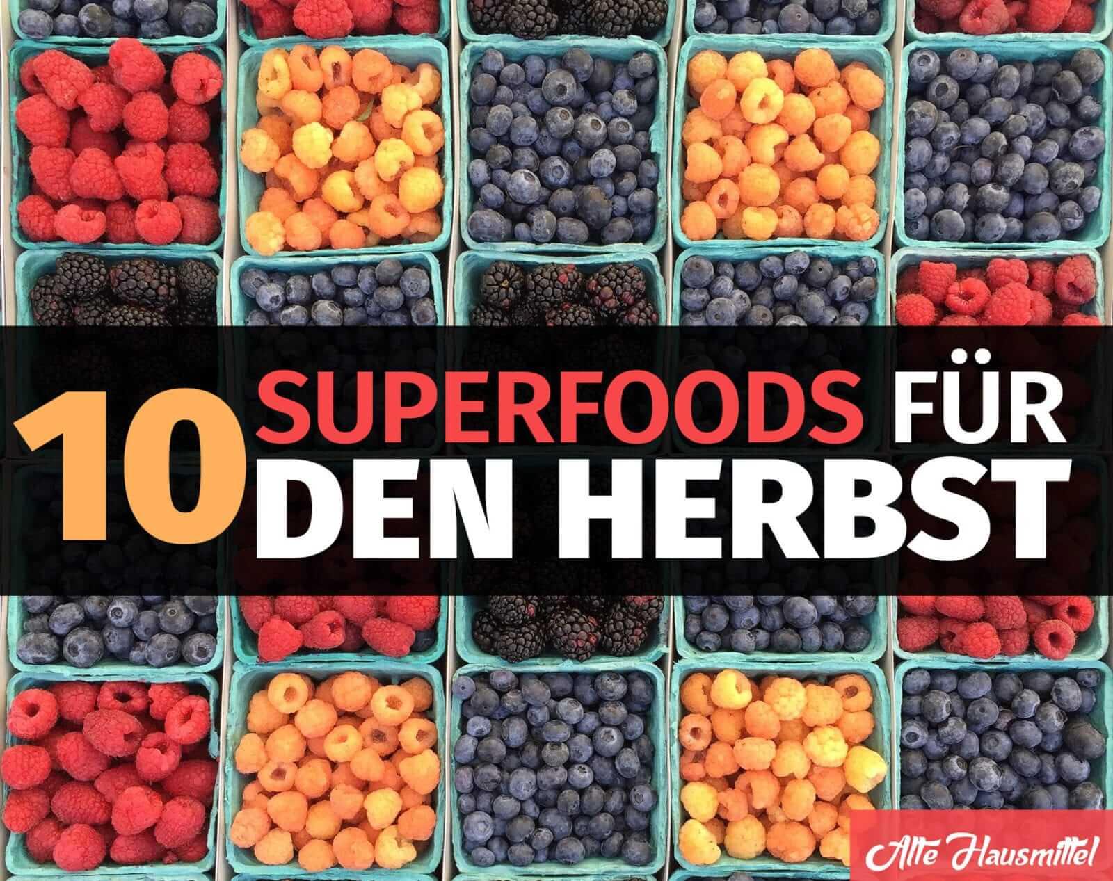 10 superfoods f r einen gesunden herbst gesund und lecker. Black Bedroom Furniture Sets. Home Design Ideas